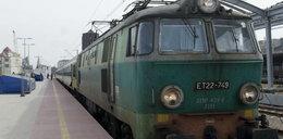 Lokomotywa zgubiła pociąg