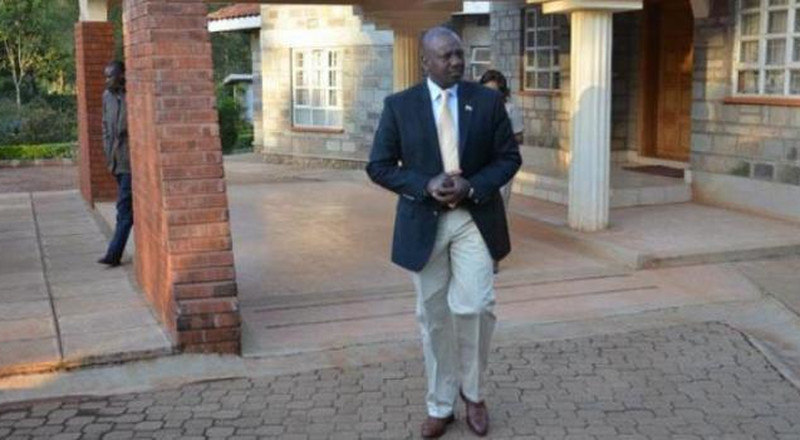 Angry Moi ordered me & my team to be locked out of his gate - Ruto