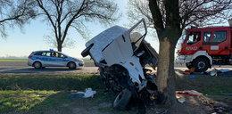 Wypadek mercedesa pod Kutnem. Są ofiary