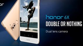 Honor 6X - Huwawei prezentuje mocny smartfon z podwójną kamerą i wydają baterią
