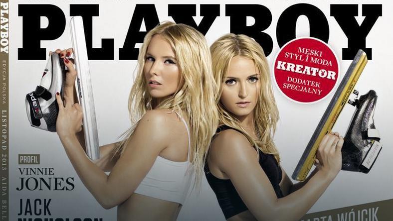 "Aida Bella i Marta Wójcik na okładce ""Playboya"""