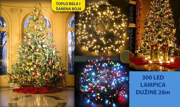 Novogodišnje LED lampice