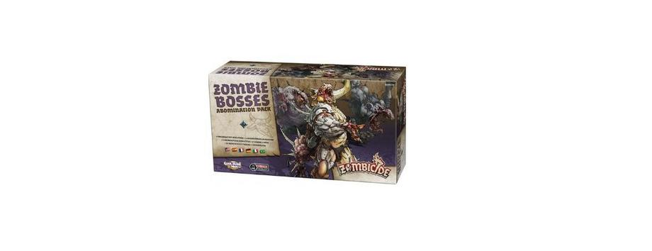 Zombicide Zombie Bosses Abomination Pack