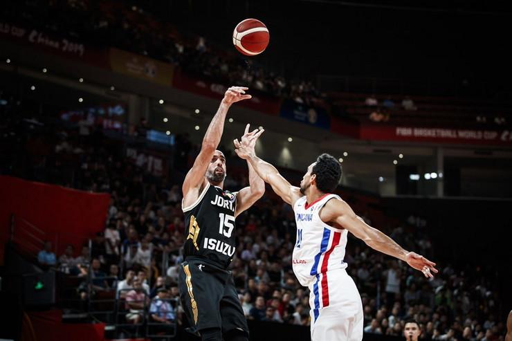 Košarkaška reprezentacija Jordana, Dominikanske Republike
