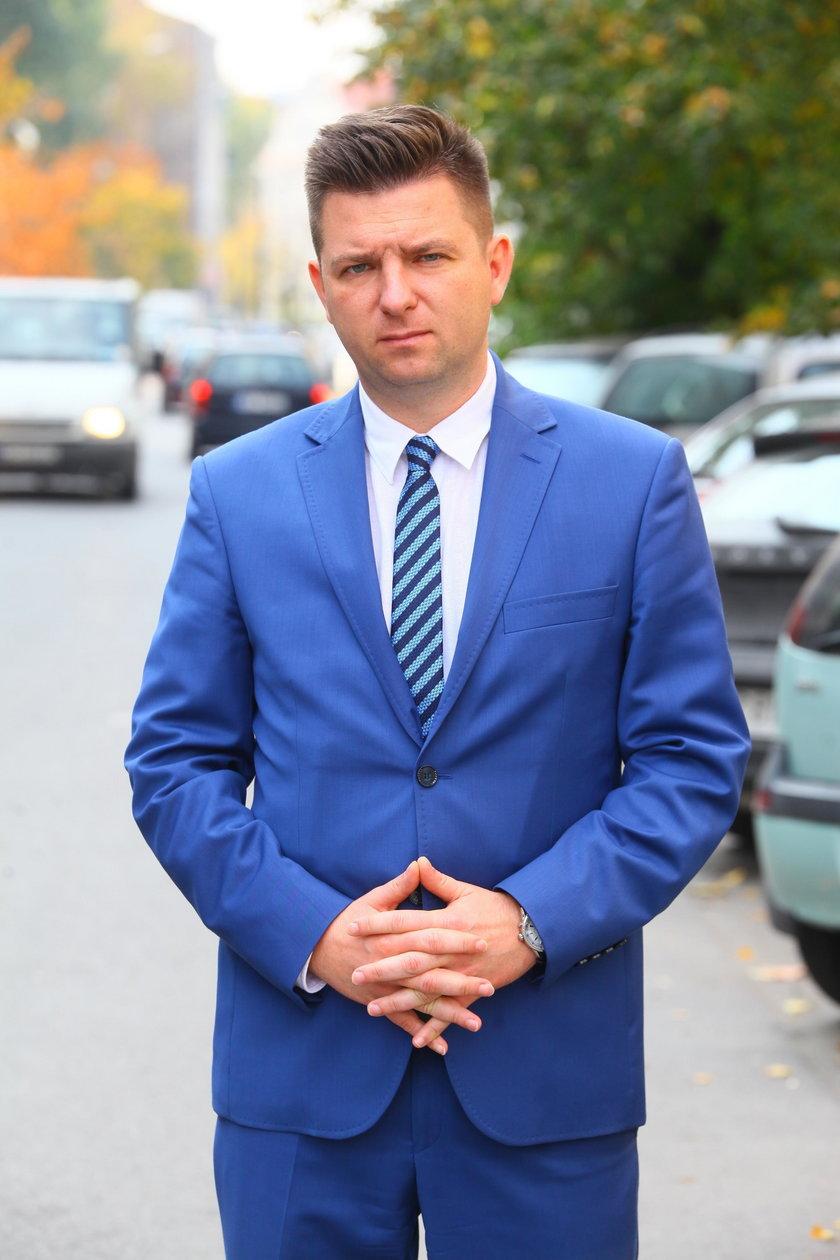 Marcin Saduś, rzecznik Prokuratury Okręgowej Warszawa-Praga
