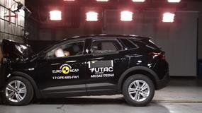 EuroNCAP: nowy Opel Grandland X otrzymał pięć gwiazdek i jest samochodem bezpiecznym