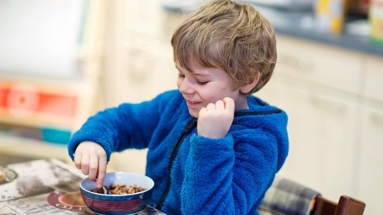 1. Słodkie płatki śniadaniowe