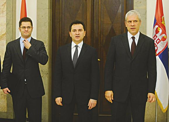 Počela trka za potpredsednike stranke: Jeremić i Đelić sa Tadićem