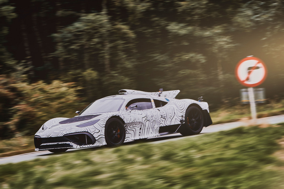 1054 KM - Mercedes-AMG One
