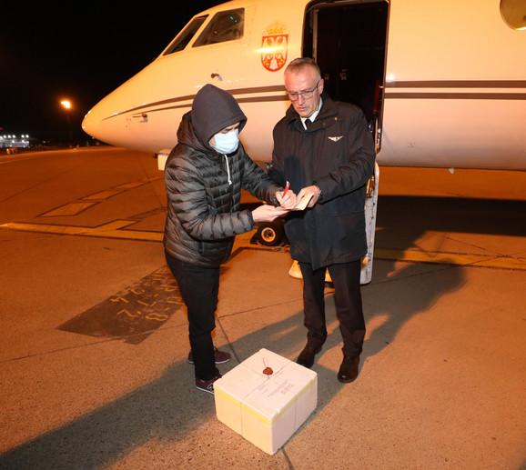 Pomoć iz Kine došla u Srbiju