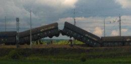 Katastrofa! Wykoleił się pociąg. FILM