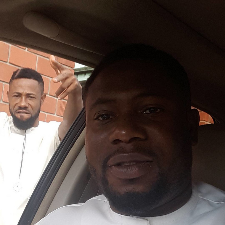 Late Henry Okoro introduced his big brother, Kennedy Okoro to movie making. [Facebook/Henry Okoro Prosper]
