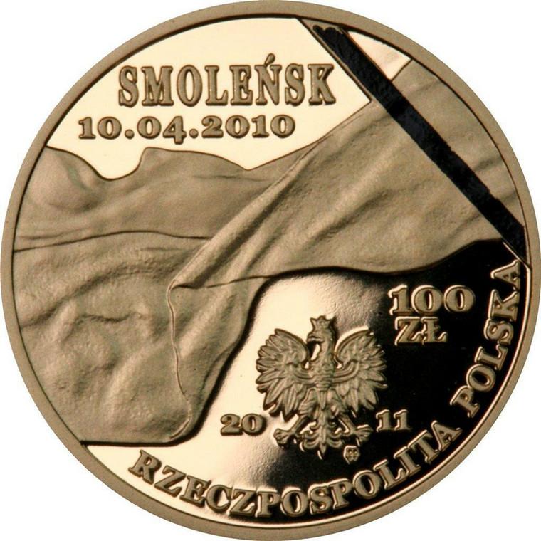 Specjalna kolekcja numizmatów NBP inspirowanych katastrofą smoleńską