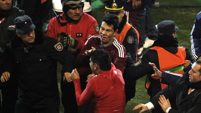 Piłkarze pobili się po meczu