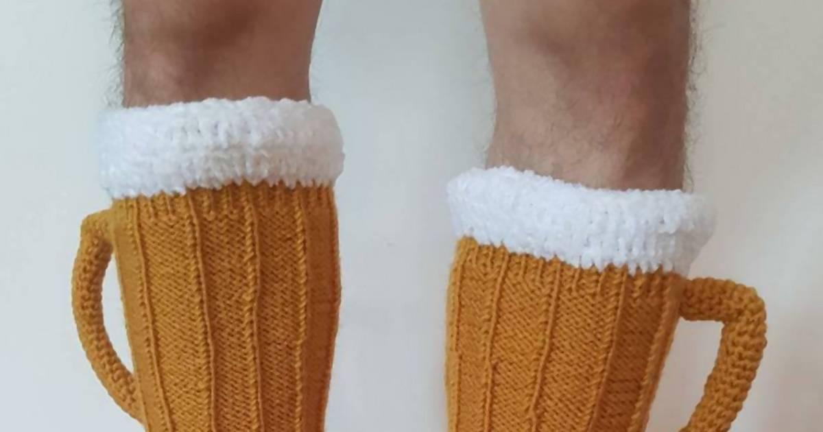 Es gibt jetzt endlich Bier-Socken!