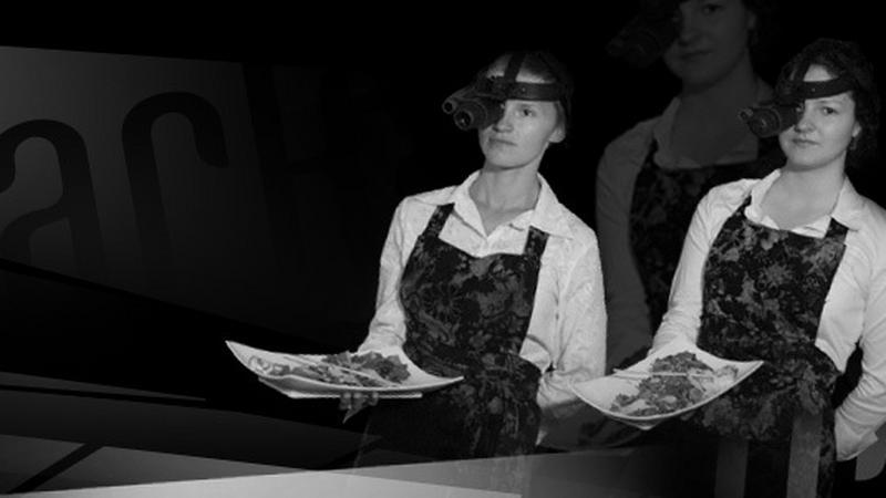 Znalezione obrazy dla zapytania dark restaurant