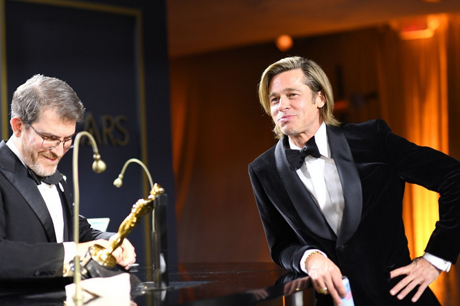 Bred Pit na dodeli Oskara