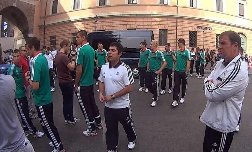 Legia w Watykanie
