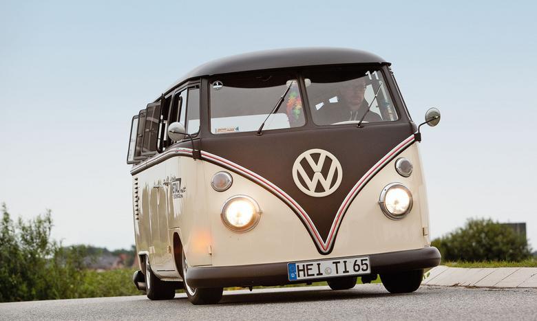 Sven ma jednego z najniżej zawieszonych VW T1  w Szlezwiku-Holsztynie. A może i w całych Niemczech.