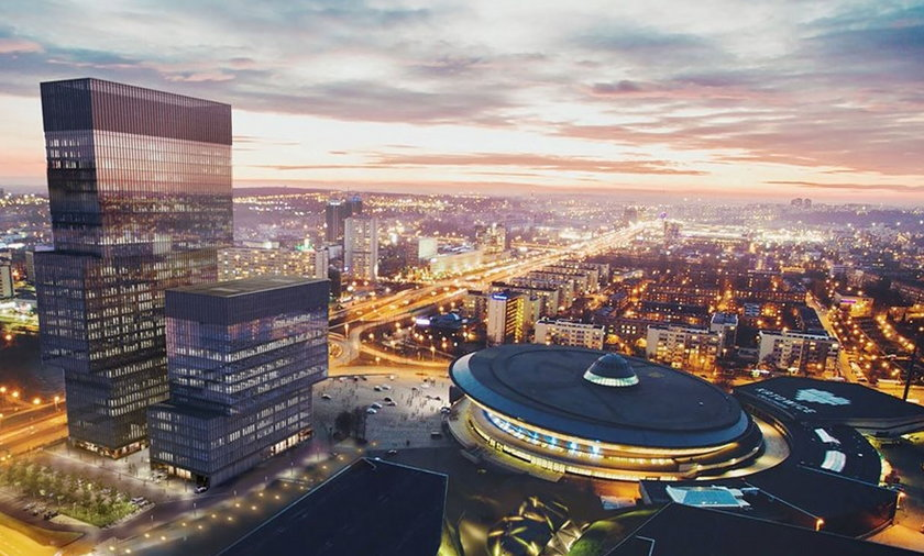 Katowice. Przy Spodku powstaną dwa nowe biurowce