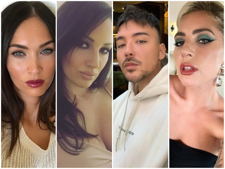 Milan Stanković, Megan Foks, Lejdi Gaga, Aleksandra Prijović