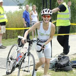 Paulina Sykut ukończyła triathlon!