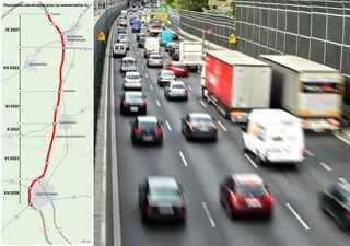 Drogowcy finiszują na autostradzie A1. Kluczowy odcinek ma zostać oddany przed końcem roku [MAPA]