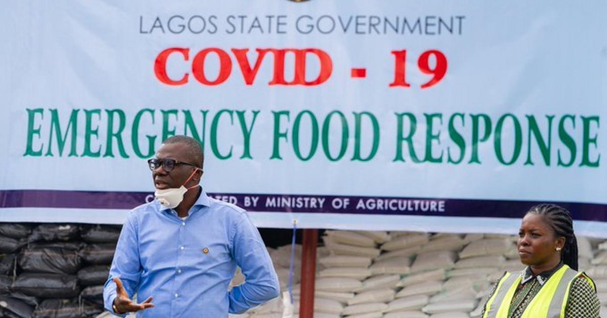 Sanwo-Olu: 'We'll be bringing food to you, Lagosians, just stay at ...