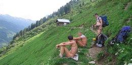 Alpy pełne golasów