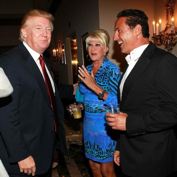 Donald i Ivana Tramp oktobra 2012. u Njujorku