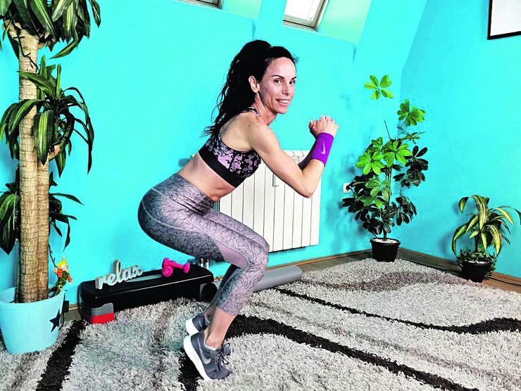 Lucija mezel fitnes trener