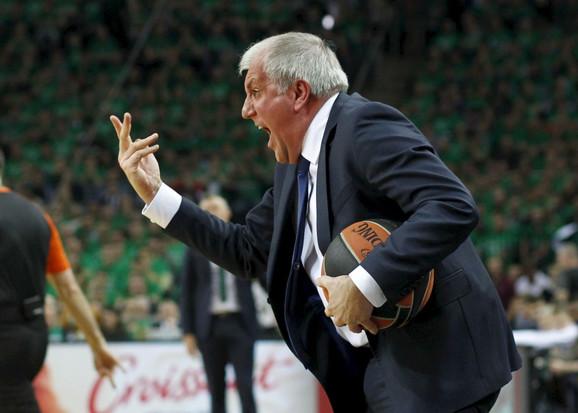 Trener Fenerbahčea Željko Obradović