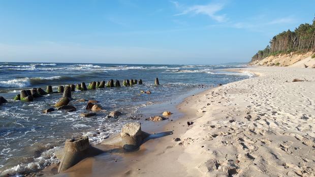 Plaża, Orzechowo Morskie