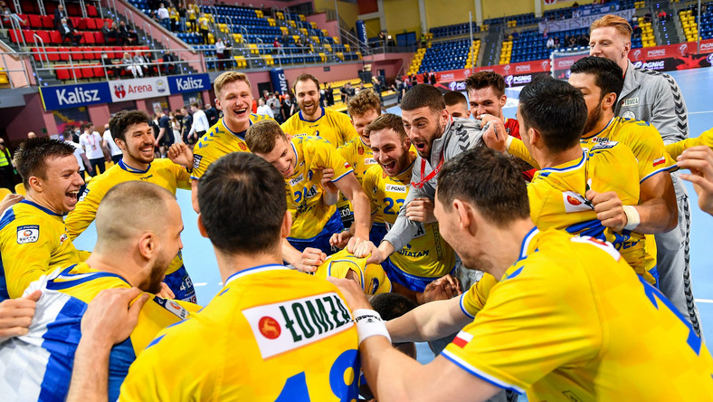 Piłkarze ręczni Łomży Vive Kielce