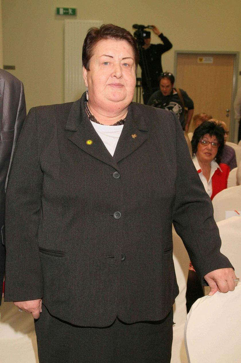 Dorota Wellman zagra Henrykę Krzywonos
