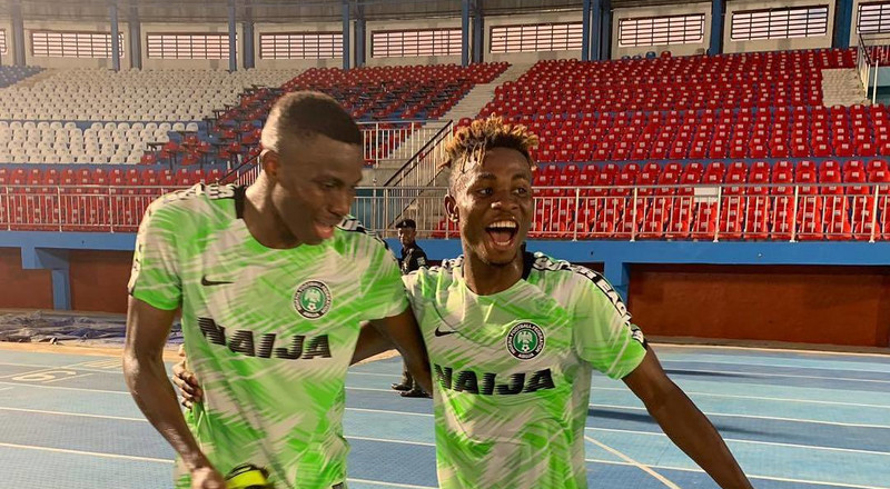 Super Eagles youngsters Victor Osimhen and Samuel Chukwueze in the running to be 2019 African Youth Player of the Year