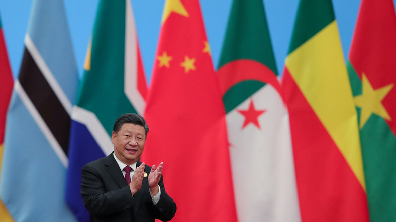 Chinese President Xi Jinping attends the 2018 Beijing Summit Of The Forum On China-Africa