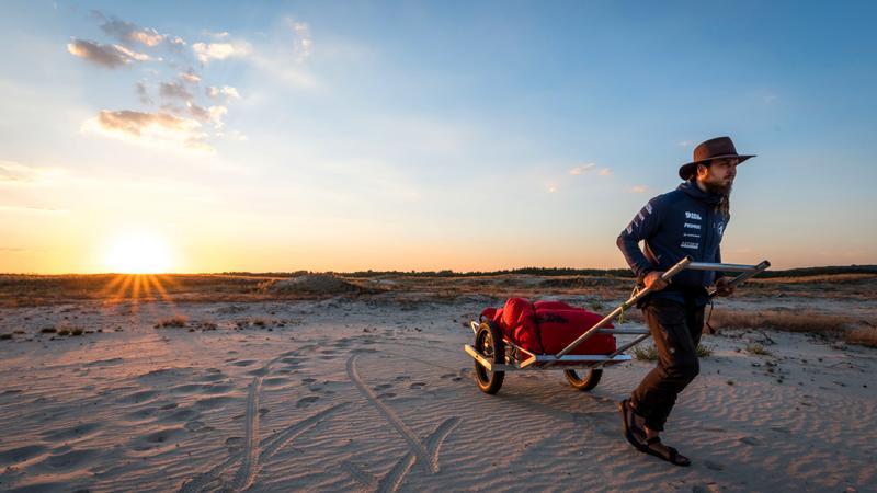 Wyprawa Mateusza Waligóry na pustynię Gobi