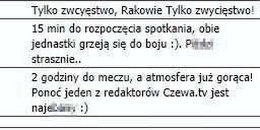 """""""O kur... czarny murzyn na boisku"""" Skandaliczna relacja z meczu!"""