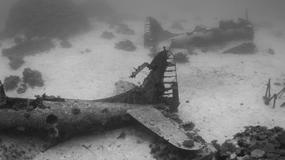 Podwodne cmentarzysko samolotów z II wojny światowej