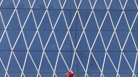 Alain Robert na Bakrie Tower w Dżakarcie