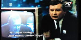 Tak Kaczyński chwalił Wałęsę. Wstydzi się tego?