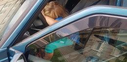 7-latka za kierownicą auta! Ojciec spał w domu