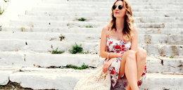 Letnie długie sukienki w kwiaty idealne na upalne dni