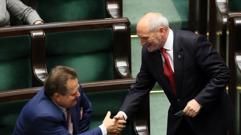Jarosław Zieliński i Antoni Macierewicz