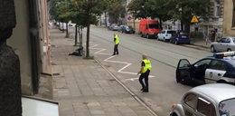 Policjanci postrzelili szaleńca w Gorzowie. FILM