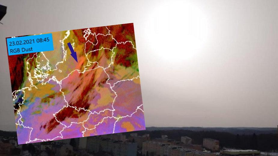 Pył znad Sahary dotarł do Polski? Zmętnione powietrze w Trójmieście