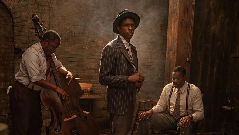 "Chadwick Boseman. Ostatni film aktora. ""Ma Rainey's Black Bottom"""