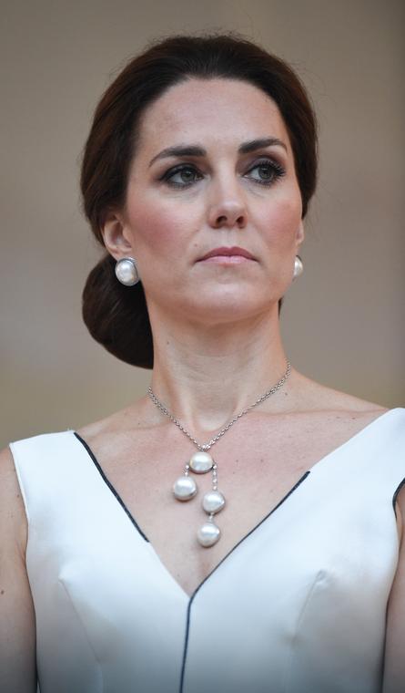 Księżna Kate w kreacji Gosi Baczyńskiej