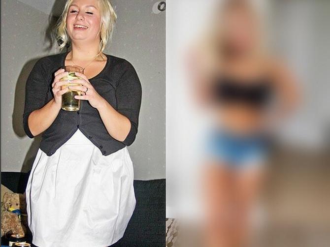 Ova devojka je pokazala šta alkohol čini telu. Promena je ogromna!